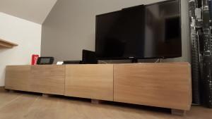 panneau chene meuble tv