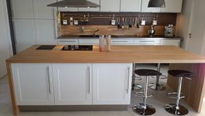 Plan de travail en bois massif pour votre cuisine Plan de travail en bois massif